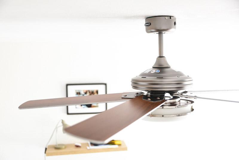 taille id ale d 39 un ventilateur de plafond par rapport. Black Bedroom Furniture Sets. Home Design Ideas