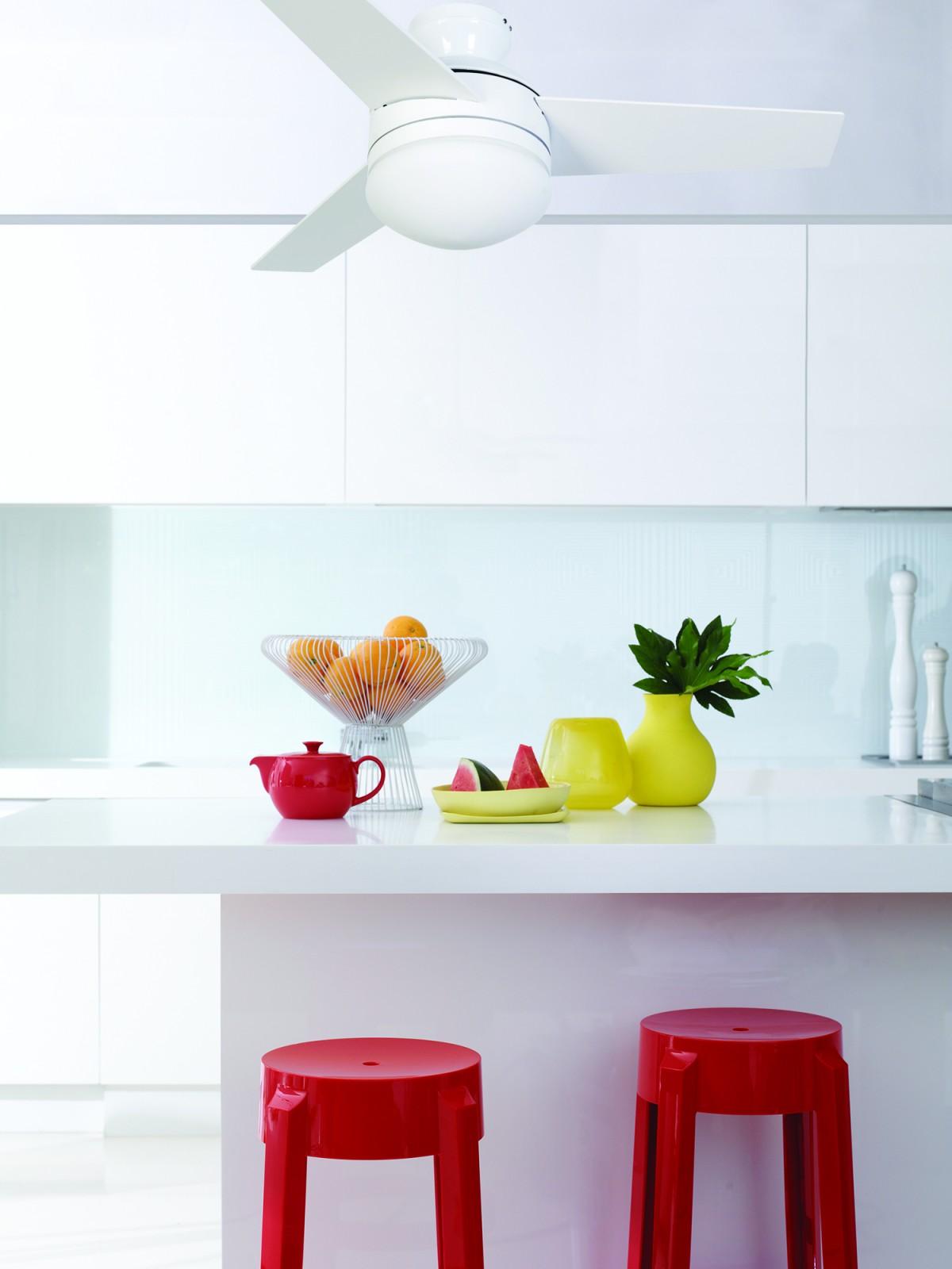 Ventilateur de plafond avec clairage et t l commande girona - Ventilateur de plafond avec eclairage ...
